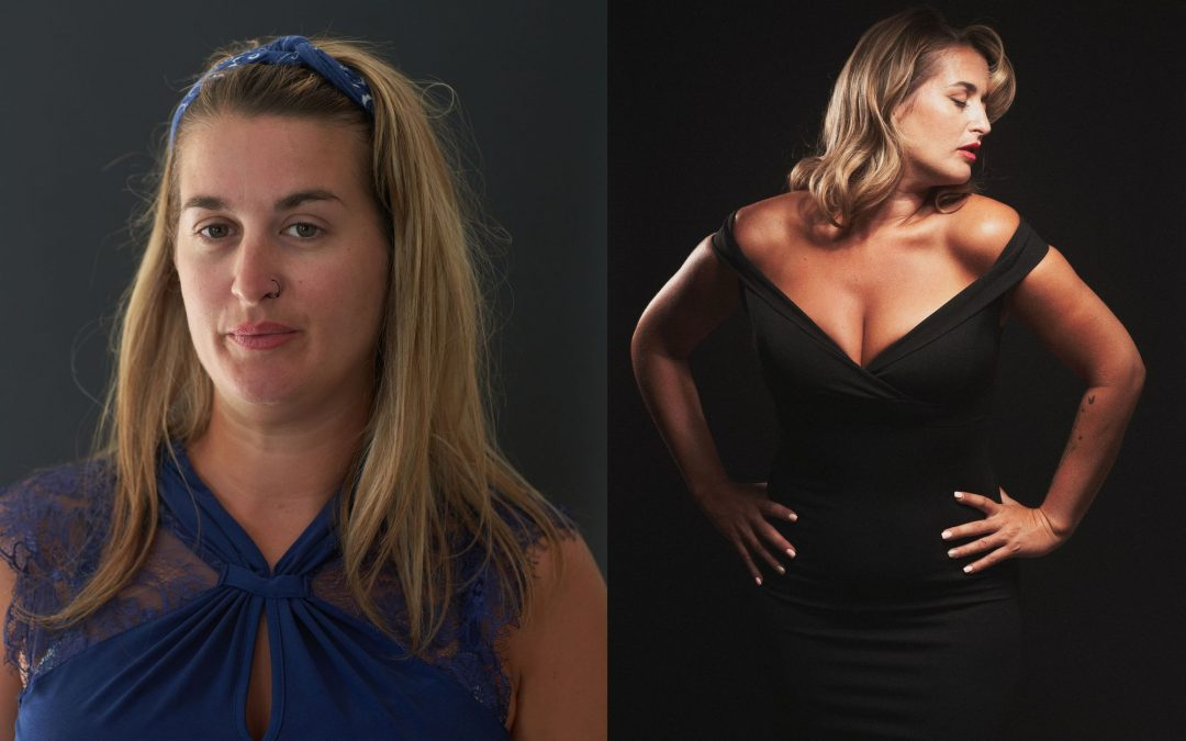 Photographie femme relooking