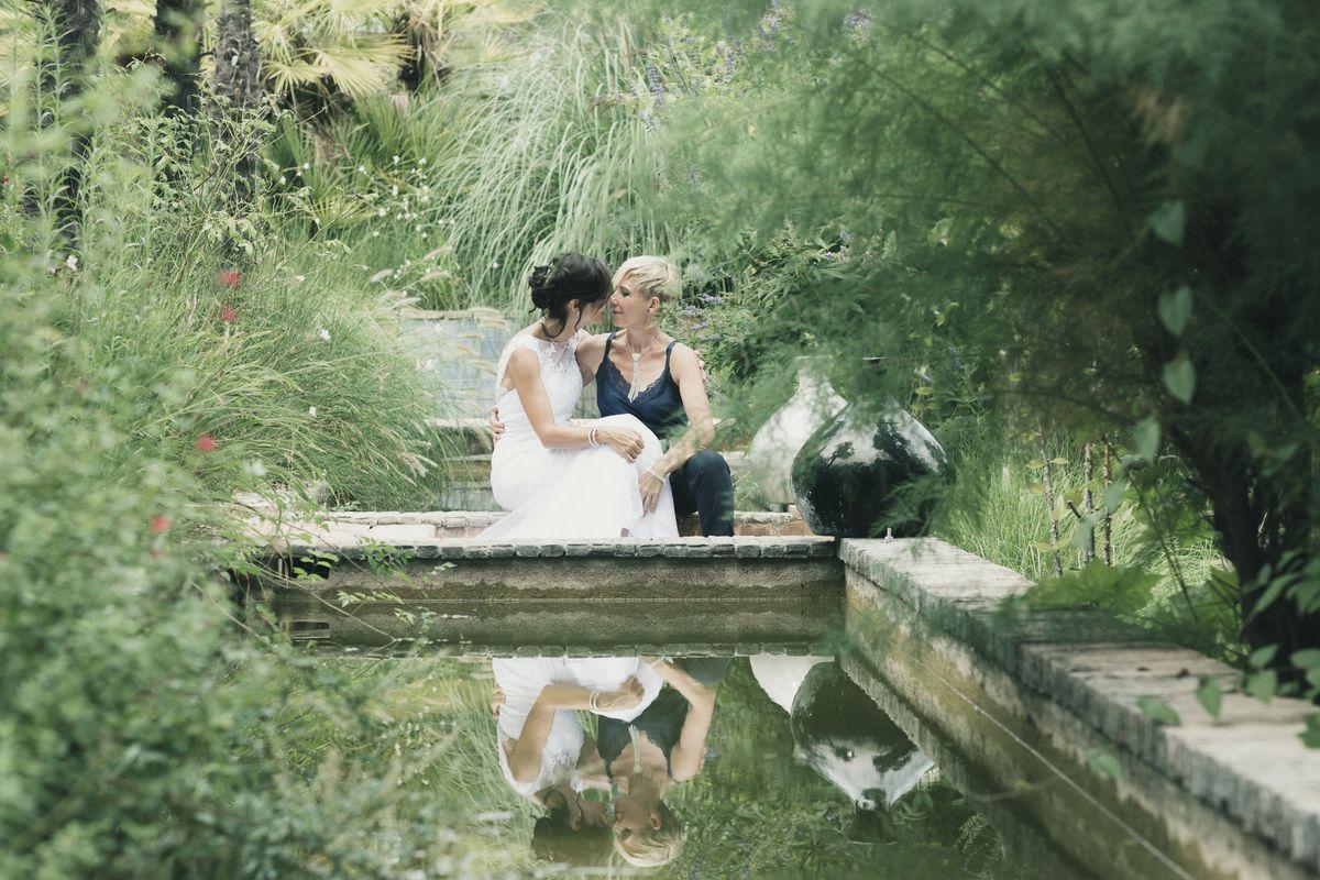 mariage verger de kouros
